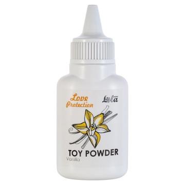 Пудра для игрушек Love Protection с ароматом ванили - 15 гр.