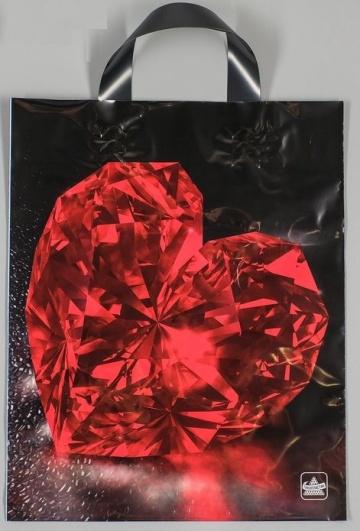 """Полиэтиленовый пакет """"Рубин"""" - 35 х 28 см."""