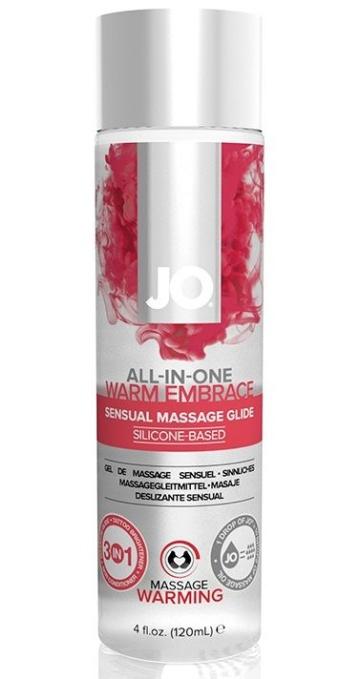 Универсальное массажное масло с согревающим эффектом All-In-One Warm Embrace - 120 мл.