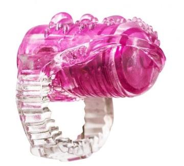 Розовая насадка на язык Rings Teaser