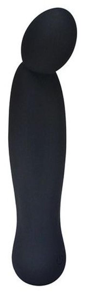 Черный вибростимулятор LITTLE SECRET - 16,5 см.