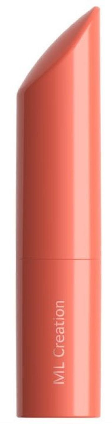Оранжевый мини-вибратор Love Bullet - 8,4 см.