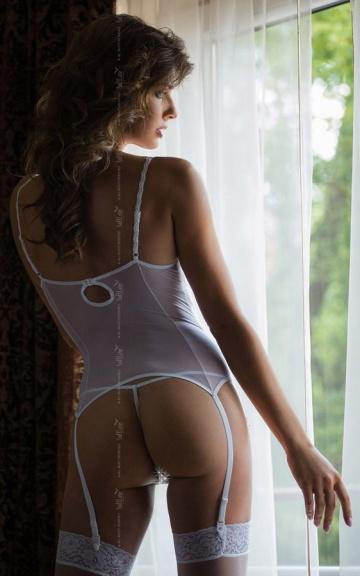 Кружевное бюстье Caroline с лифом на косточках