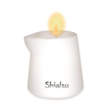 Массажная свеча с ароматом малины и ванильного крема - 130 гр.