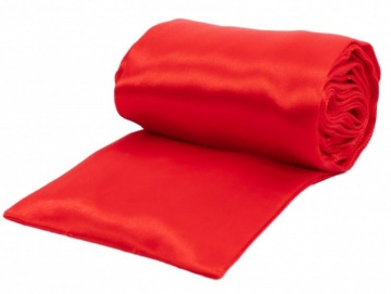 Красная атласная лента для связывания - 1,4 м.