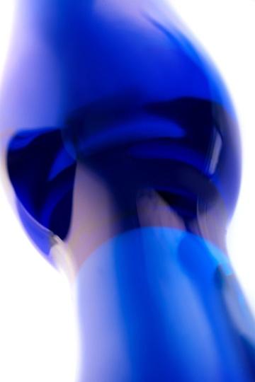 Стеклянная анальная втулка - 17,5 см.