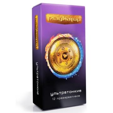 """Презервативы """"Гладиатор Ультратонкие"""" - 12 шт."""