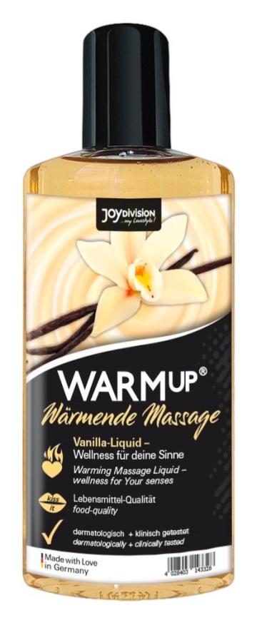 Массажное масло с ароматом ванили WARMup vanilla - 150 мл.