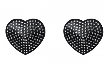 Эффектные пэстис в форме сердечек