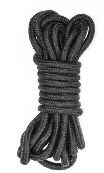 Черная веревка Do Not Disturb - 5 м.