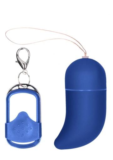 Синее виброяйцо Small Wireless Vibrating G-Spot Egg