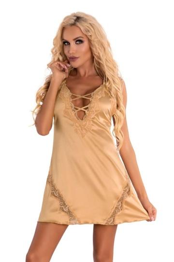 Роскошная сорочка Landim с кружевом