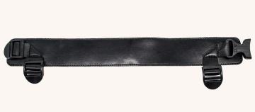 Пустотелый поясной фаллопротез MINI - 17,5 см.