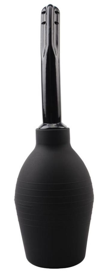 Черный интимный душ-спринцовка Booty Cleanse