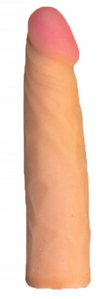 Трусики Harness с реалистичной насадкой-фаллосом №66 - 18,5 см.