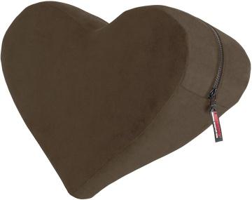 Кофейная подушка для любви Liberator Retail Heart Wedge