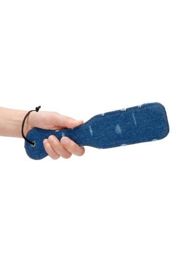 Синяя джинсовая шлепалка Roughend Denim Style - 28,5 см.