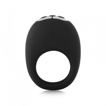 Черное эрекционное виброкольцо Mio Vibrating Ring