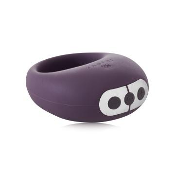 Фиолетовое эрекционное виброкольцо Mio Vibrating Ring