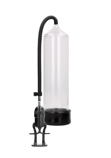 Прозрачная ручная вакуумная помпа Deluxe Beginner Pump