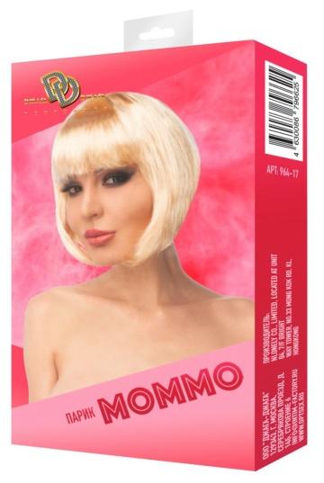 """Бежевый парик """"Моммо"""""""