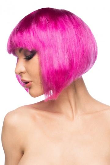 """Ярко-розовый парик """"Теруко"""""""