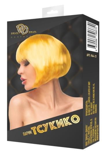 """Золотистый парик """"Тсукико"""""""