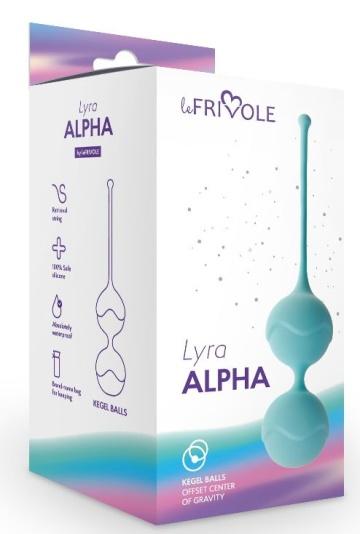 Голубые вагинальные шарики Alpha