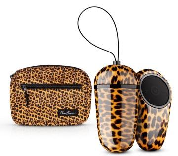 Леопардовое виброяйцо Maha с пультом ДУ
