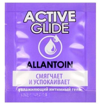 Лубрикант на водной основе Active Glide с аллантоином - 3 гр.