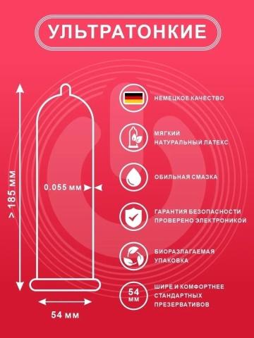 Ультратонкие презервативы ON Super Thin - 50 шт.