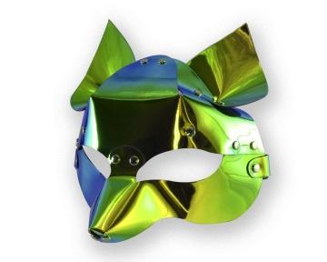 """Голографическая маска """"Лиса"""""""