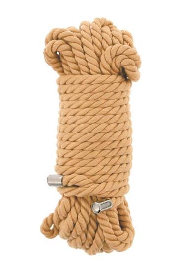 Хлопковая веревка PREMIUM BONDAGE ROPE COTTON - 10 м.