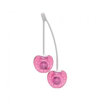 Ярко-розовые вагинальные шарики Cherry Love