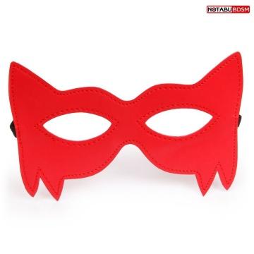 Стильная красная маска на глаза