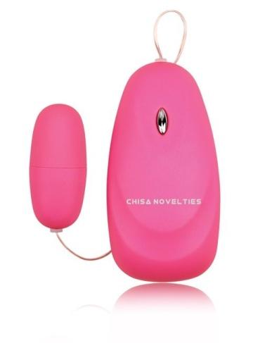 Розовое виброяйцо M-Mello Mini Massager
