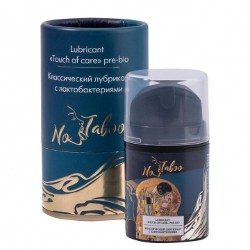"Классический лубрикант с лактобактериями No Taboo Lubricant ""Touch of care"" Pre-bio - 50 мл."