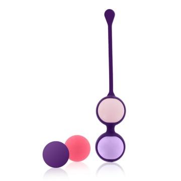 Фиолетовая оболочка с 4 сменными шариками Pussy Playballs