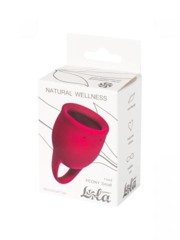 Малиновая менструальная чаша Peony - 15 мл.