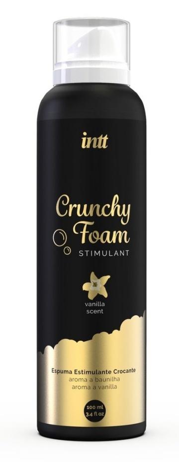 Пенка для массажа Crunchy Foam Stimulant Vanilla - 100 мл.