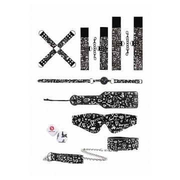 Набор для бондажа с принтом Printed Bondage Kit