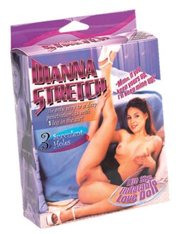 Надувная секс-кукла с задранной вверх ножкой