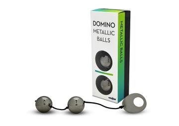 Хромированные вагинальные шарики с петелькой для извлечения