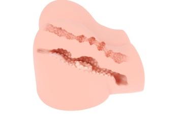 Вибрирующий мастурбатор-полуторс Olivia Say: вагина и анус