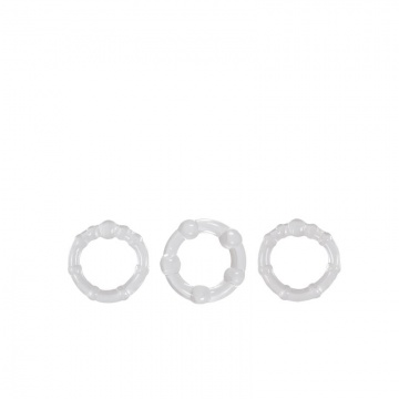 Набор прозрачных эрекционных колец Intensity Rings