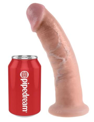 """Телесный фаллоимитатор 9"""" Cock - 22,9 см."""