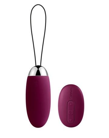 Фиолетовое виброяйцо Elva с пультом ДУ