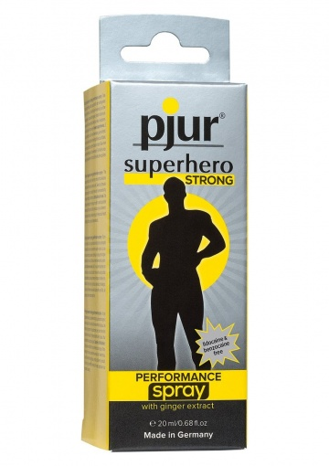 Спрей-пролонгатор длительного действия pjur SUPERHERO Strong Spray - 20 мл.