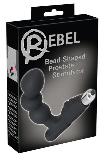 Стимулятор простаты с вибрацией Rebel Bead-shaped Prostate Stimulator