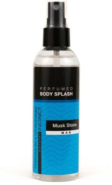 Мужской спрей для тела с феромонами Musk Stone - 100 мл.